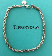 """Tiffany and co. twisted rope bracelet 18k gold 750/925 7.25"""""""