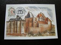 FRANCE - carte 1er jour 4/7/1992 (chateau de biron) (cy37) french