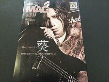 New Club Zy. Zy MAG Vol.35 Versailles the GazettE AOI Japanese Magazine JAPAN
