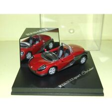 Renault spider 1997 bordeaux speed 1:43 without windshield