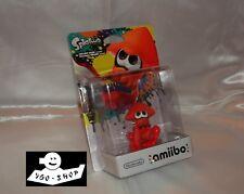 NINTENDO Wii WiiU AMIIBO SPLATOON 2 INKLING SQUID orange CALAMAR Tintenfisch OVP