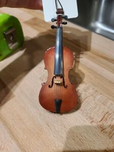 Lot #O3 -Realistic Cello, Piano & Trumpet Christmas Ornament by Broadway Gifts