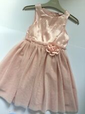 Girl H&M Pink Tulle Party Occasionally Dress Age 5-6 Years