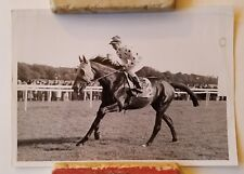 Antique Thoroughbred Racehorse Racing Photograph