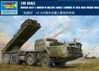 Trumpeter 1/35 01020 BM-30 Russian 9A52-2 Smerch-M Multiple Rocket Launcher kit