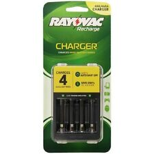 RAYOVAC Batteries Rechargeable Charger PS133 For AA And AAA Battery Charger
