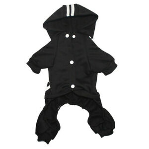 4 Leg Pet Dog Clothes Cat Puppy Coat Sports Hoodies Warm Sweater Jacket Clothing