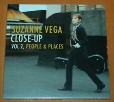 Suzanne Vega - Close-Up Vol 2, People & Places - Sealed Promo CD - Card Sleeve