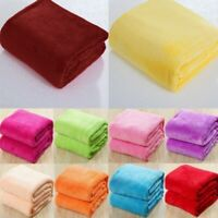 Super Soft Coral Fleece Blanket Fuzzy Warm and Comfortable All Year Bed Blanket
