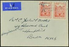 Netherlands 1948 Air Mail Cover To England #C52968