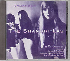 CD ALBUM THE SHANGRI-LAS *LEADER OF THE PACK*