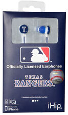 Texas Rangers Hi-Fi Ear Buds [NEW] MLB Head Phones Earbuds Headphones CDG