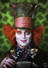 Johnny Depp / The Mad Hatter / Alice in Wonderland - A3 Poster - FREE UK P&P
