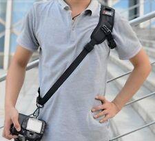 Quick Rapid Shoot Shoulder Strap F-1 For Nikon Olympus Canon Sony Panasonic