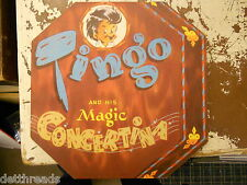 TINGO and his MAGIC CONCERTINA - Children's Book 1947 - DETROIT TAC STRONG & CO.