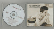 john mayer - your body is a wonder   import   cd single
