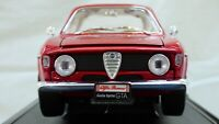 Rare Beige Int. 1:18 Red 1965 Alfa Romeo Giulia Sprint GTA Bertone Car Model Toy