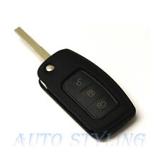 Black Key Cover Case for Ford Remote Protector Flip Shell Fob 2 3 Button 43bla