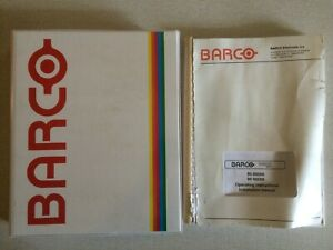 Vintage (1989) Barco Vision 600-S Projector Instruction manual & Service manual