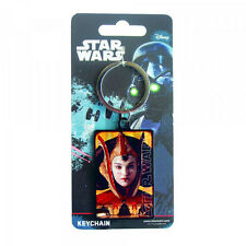 Star Wars The Phantom Menace Queen Amidala Premium Steel Licensed Keychain