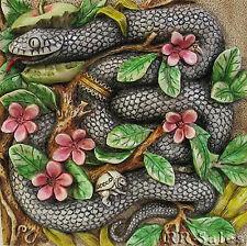 Snake Tile New HK Garter Of Eden Byron Secret Garden Harmony Kingdom Picturesque