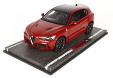 Alfa Romeo Stelvio Quadrifoglio (Rosso Competizione) 1/18 BBR BBRC1830A
