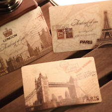 1set/9pcs Vintage Travel Landscape Postcard Greeting Card Gift Cards T3i