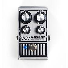 DigiTech DOD Gunslinger Mosfet Distortion Guitar Effects Pedal w/ Low & High EQ