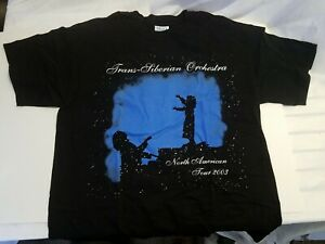 Vintage 2003 Trans- Siberian Orchestra - North American Tour T Shirt Large
