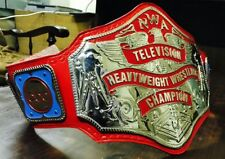 NWA TELEVISION HEAVYWEIGHT BELT IN REAL 24k GOLD PLATING, 4MM ZINC PLATES!!