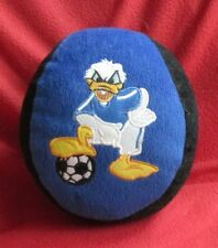 "Ball Plush Doll Donald Duck Soft, Golden Cup Disney 15 cm or 6"" Blue +Black"