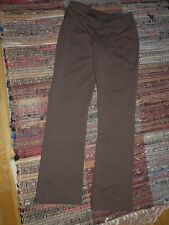 Moving Comfort brown stretch knit casual pants size Small Petite  fits 6 - 8