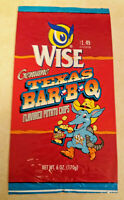 RARE VINTAGE WISE TEXAS POTATO CHIPS BAG- TEXADILLO CHARACTER