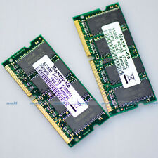 1GB 2 x 512MB PC133 133Mhz 144pin Sodimm SDRAM Laptop Notebook Memory Upgrade