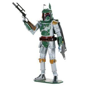 Star Wars Boba Fett Metal Earth ICONX Premium Series 3D Model
