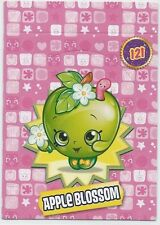 SHOPKINS COLLECTOR CARDS Apple Blossom #121  - Seasons 1 & 2 - Pop-Up-And-Glow