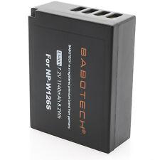 Finepix np-w126 premium batería 7,2v 1140mah compatible con fujifilm original