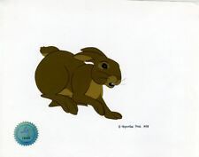 Watership Down 1978 production animation cell with LJE Seal and COA