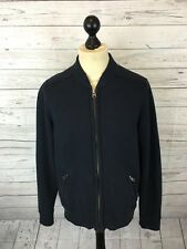ABERCROMBIE & FITCH Bomber Jacket - Medium - Navy - Great Condition