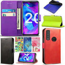 For Honor 20/ Honor 20 Lite Honor 8s Stylish Flip Wallet Phone Stand Case Cover