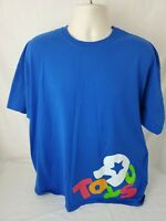 Toys R Us Employee Blue T-Shirt Size 2XL  XXL - Genuine - Official