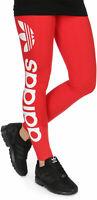 ADIDAS ORIGINALS LINEAR LEGGINGS - red