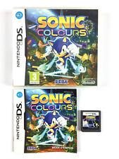 Sonic Colours DS / Jeu Nintendo DS, 3DS, 2DS... Complet