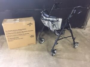 Stealth Walker Rollator - NEW - Special Sale $75.99