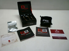 BassBuds Classic Collection RRP £40 Gold Gift Boxed - Superb quality headphones