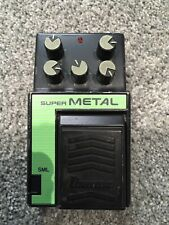 Ibanez Super Metal  Master Series SML Vintage Distortion Pedal.