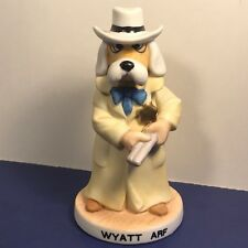 Prairie Dog Dawg Collection Porcelain Figurine Western Cowboy Wyatt Arf Earp Gun