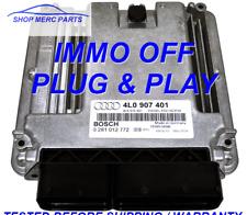 ECU AUDI Q7 4L0907401 0281012772 3.0 TDI  6 MONTH WARRANTY PLUG & PLAY