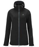 VESTE DE SKI VESTE SALOMON Snowflirt 3:1 Jacket W, Femmes, noir gris, doublé