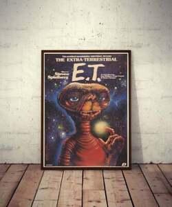 Polish Movie Poster E.T. the Extra-Terrestrial - No frame